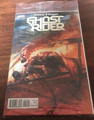 Ghost Rider #1 Dell'Otto Colour Variant Still In Sealed Bag