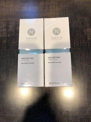 Nerium AD Age Defying Night Cream/Day Cream Combo Pack New- Factory Sealed