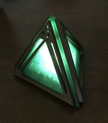 Replica Star Wars Sith Holocron Amber Red Purple Green 3D Printed. LIGHTS UP!!
