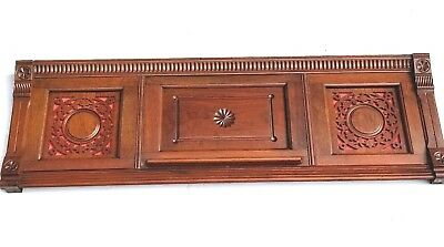 Vintage Header Pediment Entryway Mantels Mantle