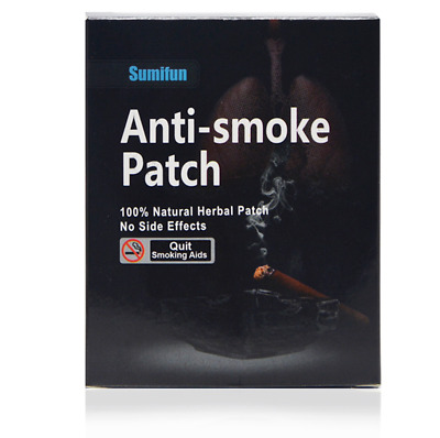 35 Patches Sumifun Quit Smoking Anti Smoke Patch for Smoking Cessation Patch 100