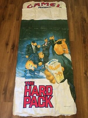 New 1991 Rare Camel Joe Cigarette The Hard Pack Pool Inflatable Float W/ Radio