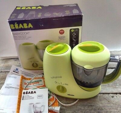 Beaba Babycook Classic Original Baby Food Maker 4 in 1 Steam Cooker-Blender
