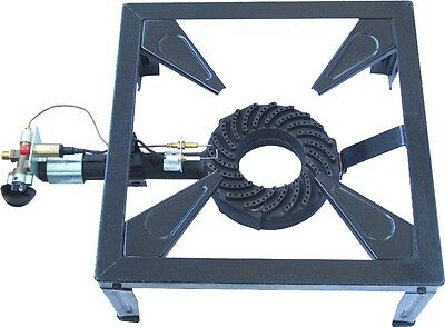 Large Cast Iron Calor Gas Burner FFD Gas Boiling Ring Catering Thermocouple