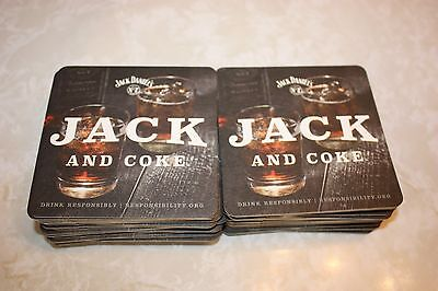 """JACK DANIEL'S COASTERS - 4""""X4"""" (shipping $2.75 first one/$1.50 each additional)"""