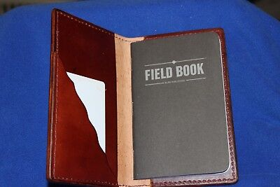 Full Grain Leather Field Notes Book Journal Cover