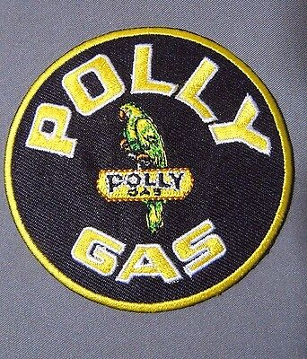 """POLLY GAS  Embroidered Iron On Uniform-Jacket Patch 3"""""""