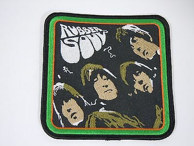 "The BEATLES-Rubber Soul Embroidered Iron-On Patch - 4"" -  High Quality"