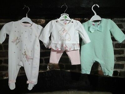 Newborn Baby Girl Clothes Bundle Ted Baker Immaculate Condition