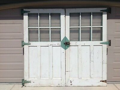 Very Nice Vintage Set Antique Carriage Doors 90 High x 96 Wide