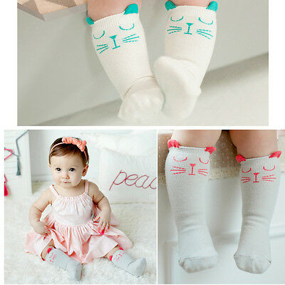 Toddlers Knee High Socks Size 1-3 Years