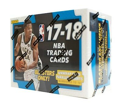 NBA BASKETBALL CARD BOX: 2017/18 Panini Donruss Optic Basketball BRAND NEW!