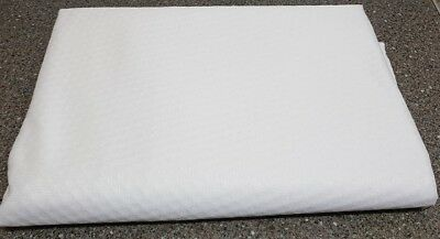 !!! Memory Foam Mattress Topper COVER. Plain Zipped COVER. COVER ONLY