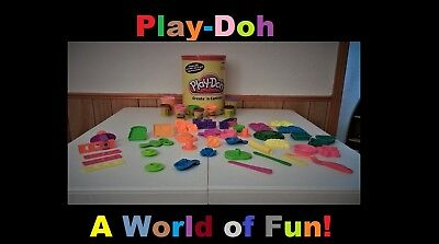 Play-Doh Create `n Canister Play Set (missing some play-doh) in great shape