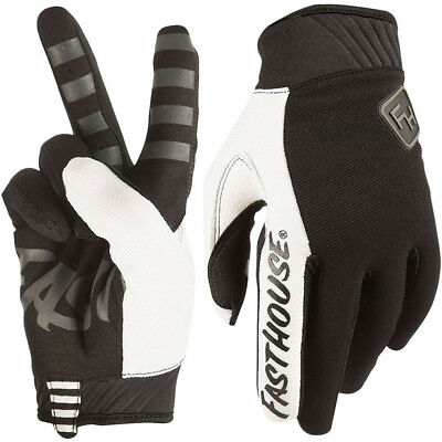 Fasthouse NEW Mx 2018 Grindhouse 2.0 Black Adult Motocross Dirt Bike Gloves