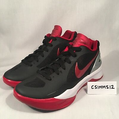 official photos 0654f 6a749 Nike Women s Zoom Volley Hyperspike Volleyball Shoes Black Red 585763 061  Sz 6.5