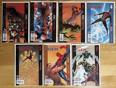Ultimate Six 1 2 3 4 5 6 7 Ultimate Spider-Man Avengers