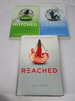 Matched reached 3 by ally condie 2013 paperback 530 picclick ally condie complete matched trilogy mixed 3 book lot crossed reached fandeluxe Images