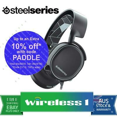 SteelSeries Arctis 3 Console Edition 7.1 Gaming Headset Black