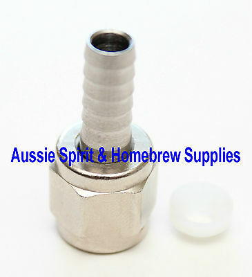 New Threaded MFL Swivel Nut Barb Washer for Ball Lock Disconnects Homebrew Beer