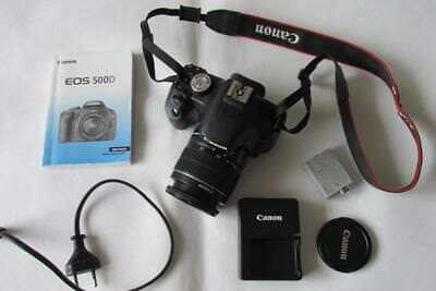 Canon EOS 500D 15.1MP Digital SLR Camera/Camcorder with EF-S 18-55mm IS Lens