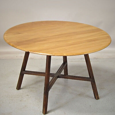 Drop Leaf Dining Kitchen Table - 1960s, Ercol, Elm (Delivery £50)