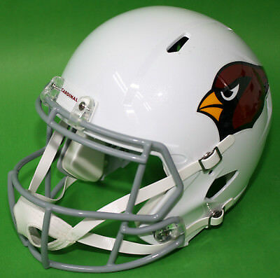 RIDDELL Deko NFL Helm Full size Football-Helmet ** Arizona Cardinals ** - Weiß