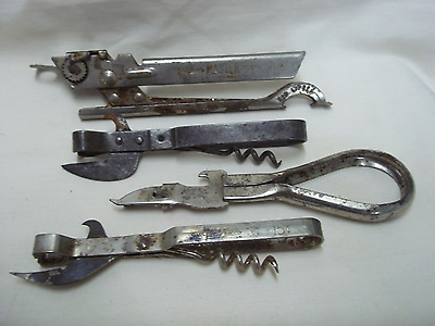 4 Vintage Can Openers