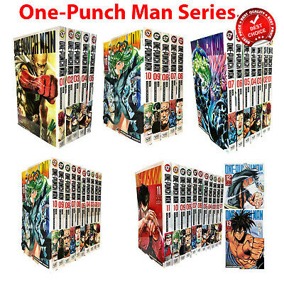 One-Punch Man Series Collection Volume 1-17 Books Manga Set Pack NEW
