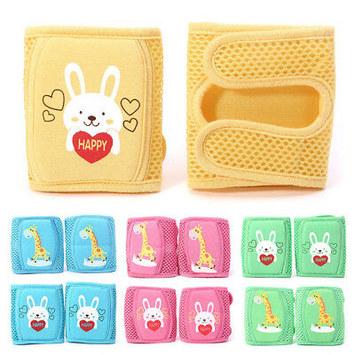 Kid Crawling Elbow Infants Toddlers Baby Knee Pads Protector Mesh Kneepad Safety