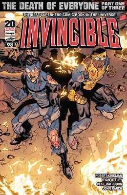 Invincible Image Comics Bundle Pack Issues #98 - #100