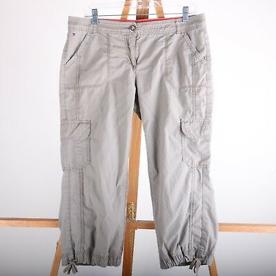 5bff6cf7 NEW WOMEN'S TOMMY Hilfiger Cropped Cargo Pants! 100% Cotton! Variety ...
