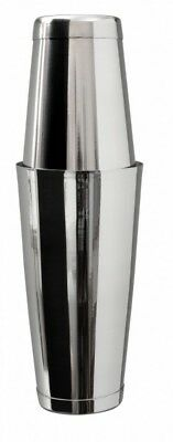 Mezclar Stainless Steel Boston Cocktail Shaker Set Tin on Tin Can Weighted