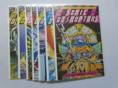 DC Sonic Disruptors Set # 1 - 7 NM (1987)