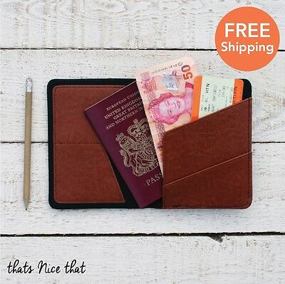 Gentlemens Hardware Passport Cover Travel Holiday ID Card Gift Suitcase Document