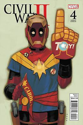 Civil War II #4 Phil Noto Deadpool Variant Edition