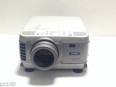 EPSON EMP-5600 LCD PROJECTOR USED 0h LAMP HOURS PATCHY SHADE IMAGE - REF 615