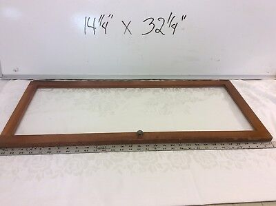vintage Barrister Globe  Wernicke replacement window/glass