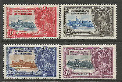 Bechuanaland Protectorate 1935 KGV Silver Jubilee set unmounted mint
