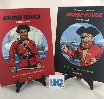 Barbe rouge - L'intégrale 1 & 2 - Charlier Hubinson - Dargaud - Comme NEUF