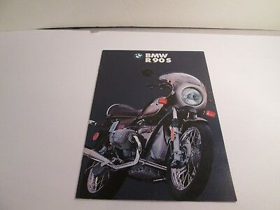 BMW R90 S MOTORCYCLE Sales brochure 1973?
