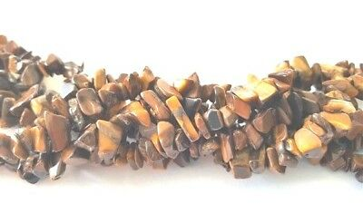 GEMSTONE - Freeform - Natural Tiger's Eye Chips 3-8 mm  - G1415