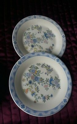 Royal Doulton Coniston Salad/side Plates 8 Inches X 2 In Excellent Condition
