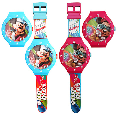 Mickey Mouse Wall Clock Minnie Mouse Wall Clock For Children's Room Disney Clock