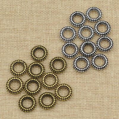 Dreadlock Ring Hair Beads Round Shape Decor Jewelry Accessories Fashion Crafts