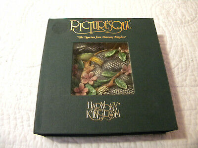 "Harmony Kingdom Picturesque Byron's Secret GardenTile ""Garden of Eden""EXCELLENT"