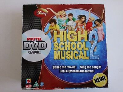 Disney's High School Musical 2 Dvd Boardgame