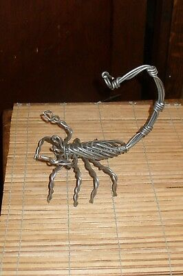 Unique Handmade Wire Scorpion