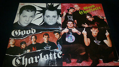 2 GOOD CHARLOTTE posters Europe poster