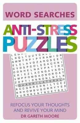 Anti-Stress Puzzles: Crosswords by Gareth Moore (Paperback, 2016)